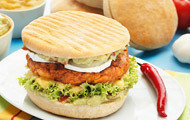 Chicken-Burger Tandoori-Art