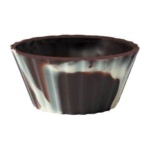 "Chocolate-Cup ""Ballerina marbled"""