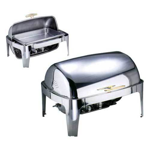 "Roll Top Chafing Dish GN 1/1 ""Profi"", gold"